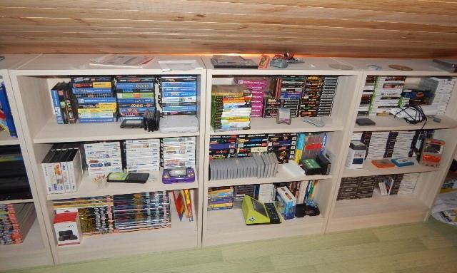 collection de jeux
